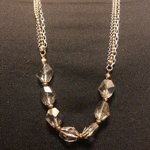 Gray and Bronze Necklace from LOFT